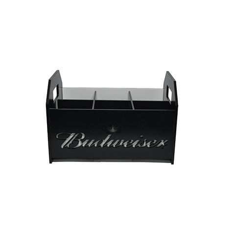 Imagem de Engradado Modelo Cerveja Bud Para Home Bar Decorativo em MDF BW