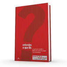 Imagem de Entendes o que lês um guia para entender a Bíblia com auxílio da exegese e da hermenêutica