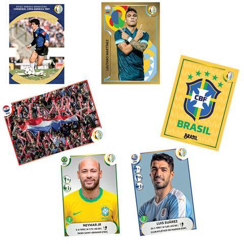 Imagem de Envelope Conmebol Copa América 2021 - Contém 5 cromos
