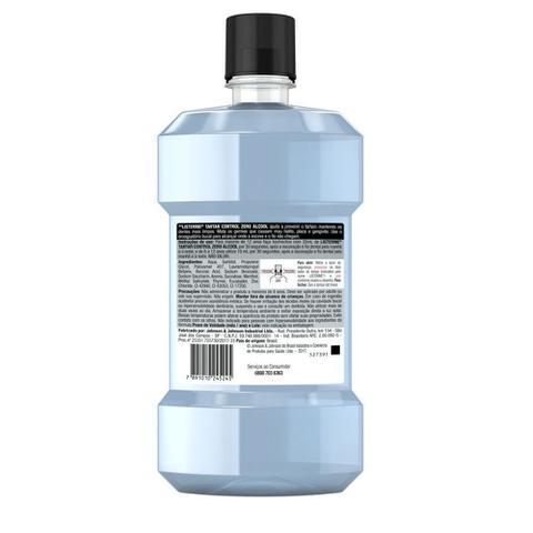 Imagem de Enxaguante Bucal Antiss Listerine Tartar Cont Ment Zero 500