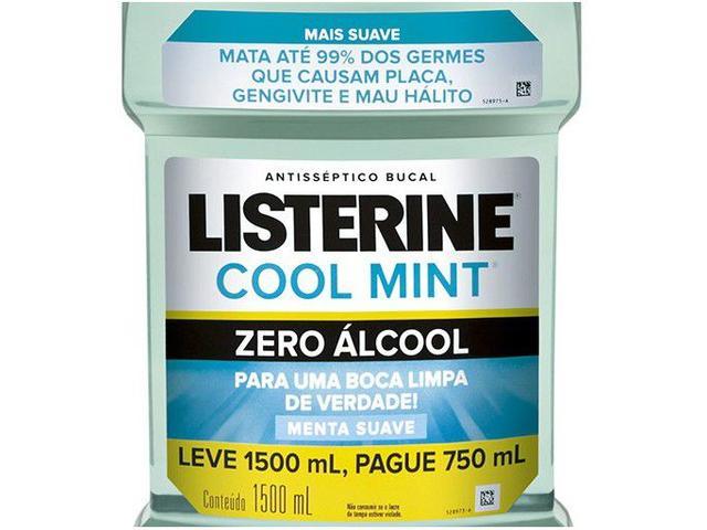 Imagem de Enxaguante Bucal Listerine Sem Álcool Cool Mint