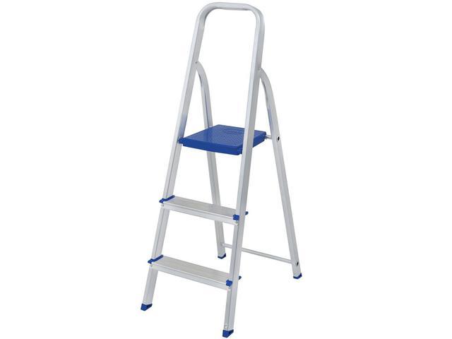 Imagem de Escada Alumínio 3 Degraus Mor