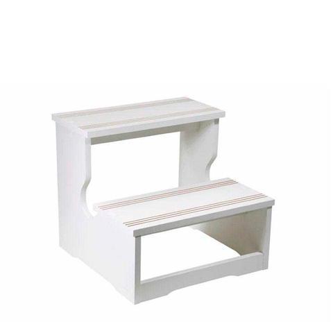 Imagem de Escada Auxiliar Com 02 Degraus De Madeira Para Maca, Clínicas E Hospitais - Shopfisio