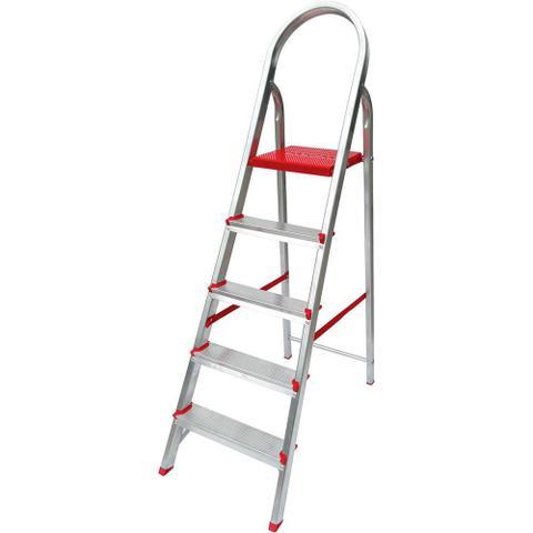 Imagem de Escada De 5 Degraus Botafogo Larlazer Suprema - Alumínio