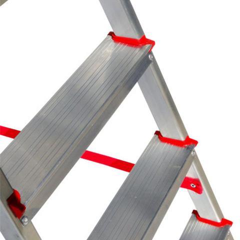 Imagem de Escada de Alumínio Doméstica 7 Degraus Botafogo