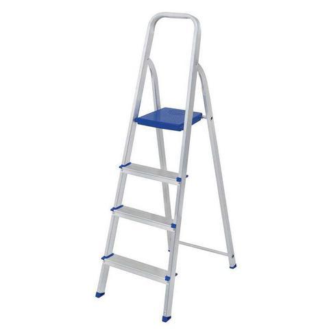 Imagem de Escada Doméstica de Alumínio 4 Degraus MOR