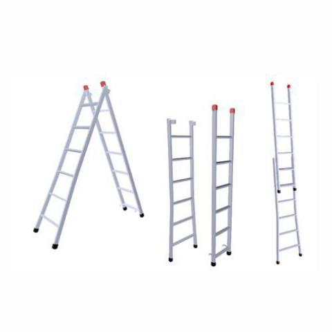 Imagem de Escada Extensiva 10x18 Degraus 3,00x5,40m Ferro 120Kg 3 em 1 -214 NV