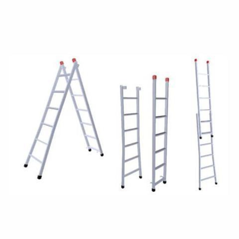 Imagem de Escada Extensiva 5x8 Degraus 1,50x2,60m Ferro 120Kg 3 em 1 -205 NV