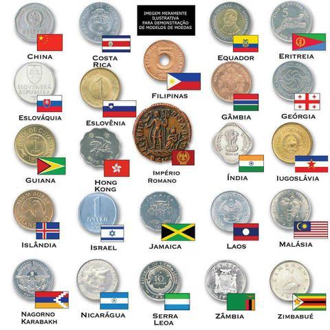 Imagem de Escava Prêmio Moedas do Mundo 5003 - DTC