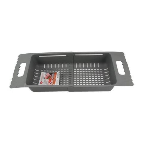 Imagem de Escorredor Ajustável para Pias Rtrátil Plástico 50X18X10cm