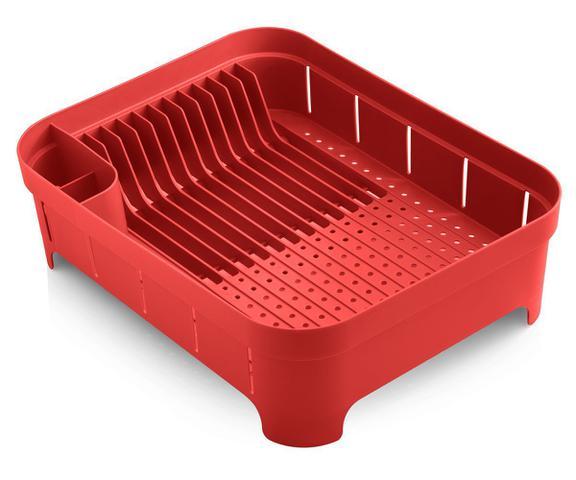 Imagem de Escorredor de Louças para Cozinha Organizador de Pia 12 Pratos e Porta Talheres Ou