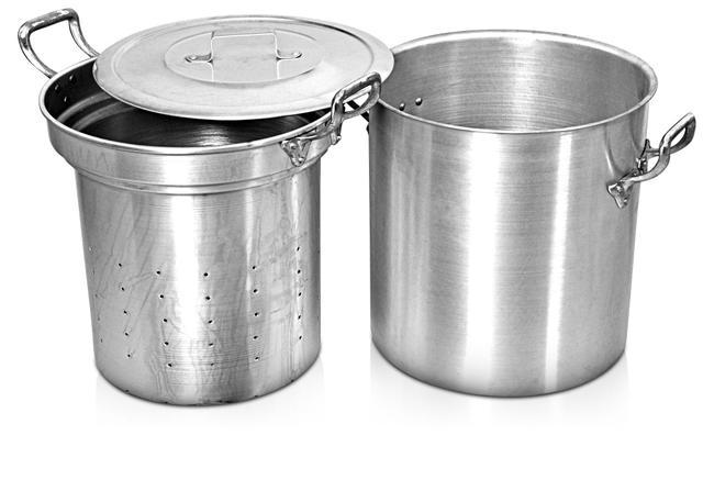Imagem de Escorredor de macarrão 2 peças 27,6 litros (1055)