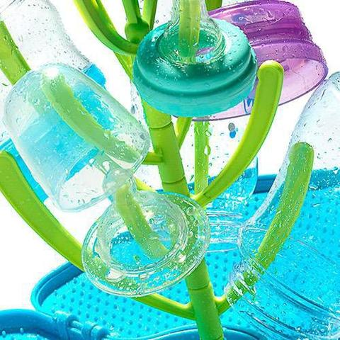 Imagem de Escorredor de Mamadeiras - Azul e Verde