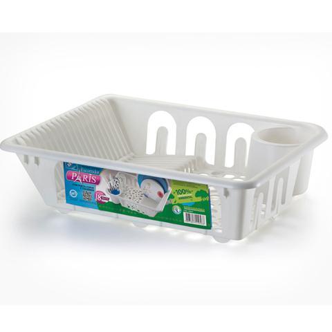 Imagem de Escorredor de plastico com porta talher e porta copos x-1056- arthi