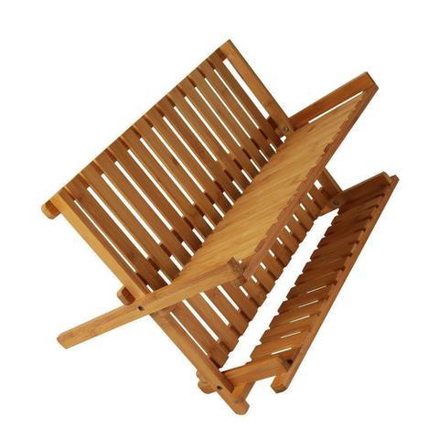 Imagem de Escorredor de Pratos em Bambu