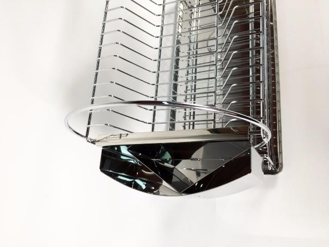 Imagem de Escorredor Inox 16 Pratos Com Porta Talheres Maxime utilidades