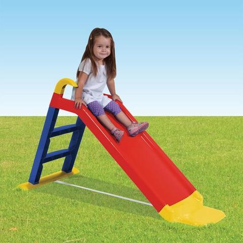 Imagem de Escorregador Infantil com Apoio Amarelo Azul e Vermelho Bel Brink - Bel Brink