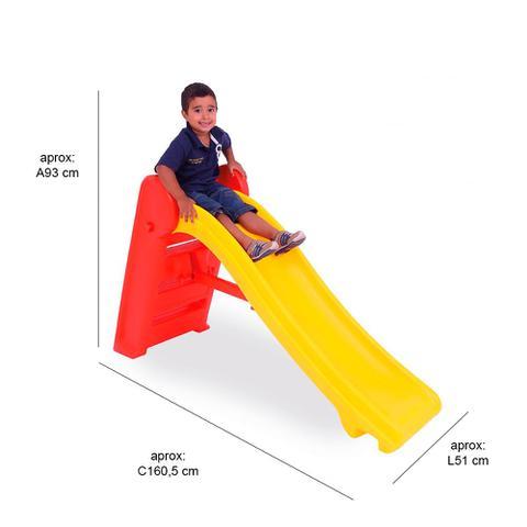 Imagem de Escorregador Infantil Desmontável Vermelho - Xalingo