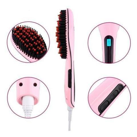 Imagem de Escova Alisadora Eletrica Beautifull Fast Hair 230C  cores variavel