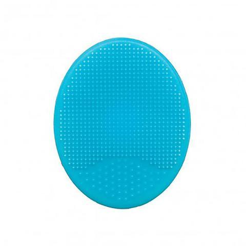 Imagem de Escova de Banho em Silicone Buba Baby Azul - 09722