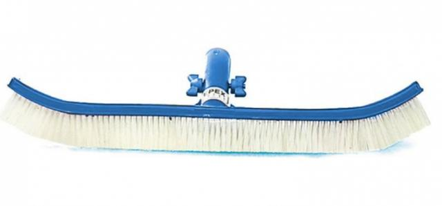 Imagem de Escova de nylon curva 45 cm azul Epex