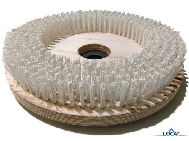 Imagem de Escova de Nylon para Enceradeira 350mm C/ Flange