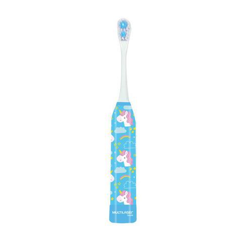 Imagem de Escova Dental Elétrica Infantil - Kids Health Pro - Unicórnio - Multilaser Saúde - HC081