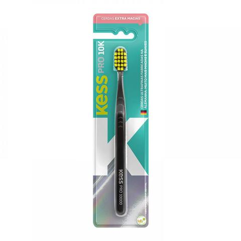 Imagem de Escova Dental Kess Pro 10K Extra Macia Cores Sortidas 1 Unidade + Capa Protetora
