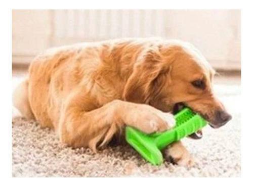 Imagem de Escova Dentes Mordedor Canino Cao Pet Limpeza Tamanho M
