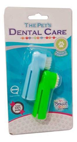 Imagem de Escova Dentes Para Cachorro E Pasta Dental Kit Higiene Pet