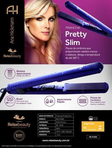 Imagem de Escova Modeladora Ultra Dry Professional 110V  Prancha Slim