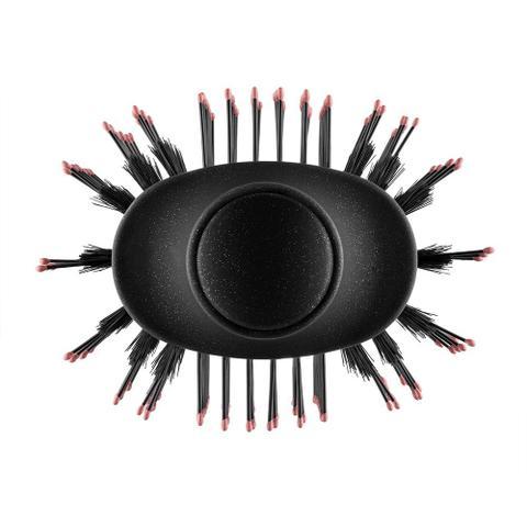 Imagem de Escova Mondial Black Rose 220V 1.200 de Potência Seca Modela Alisa Ar Quente e Frio Reduz o Frizz
