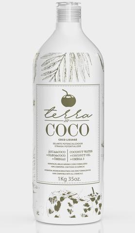 Imagem de Escova progressiva - selante potencializador a base de agua de coco - terra coco 1kg
