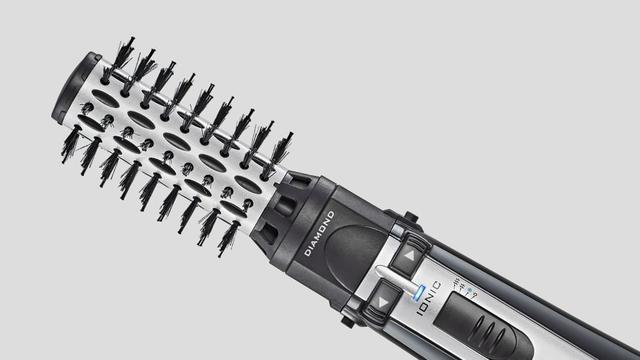 Imagem de Escova Rotating Air Brush Diamond Brilliance Conair