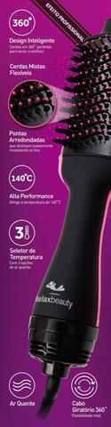 Imagem de Escova Secadora Alisadora e Modeladora Ultra Dry Professional (3 em 1) 220V