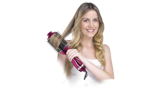 Imagem de Escova Secadora Mondial Chrome Pink ES-04