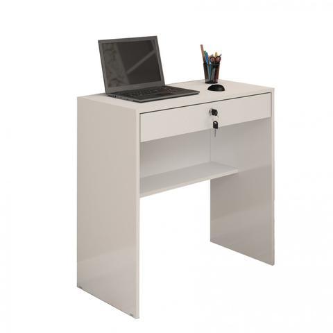 Imagem de Escrivaninha 1 Gaveta Andorinha JCM Móveis Branco