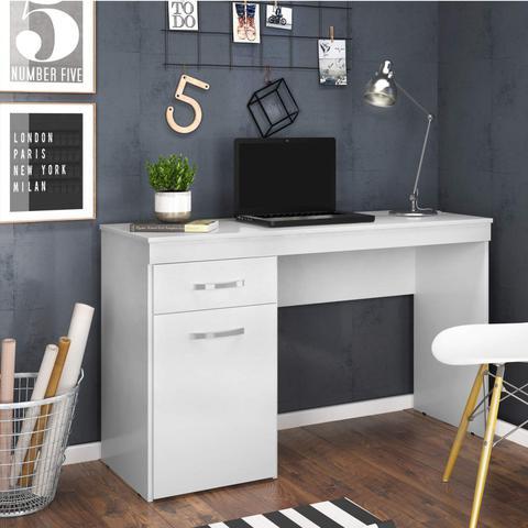 Imagem de Escrivaninha 1 Porta Vitória Demóbile Branco