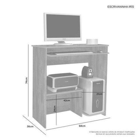 Imagem de Escrivaninha/Mesa para computador Iris JCM Movelaria