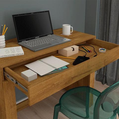 Imagem de Escrivaninha Mesa para Notebook 1 Gaveta Cleo - Permóbili