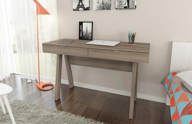 Imagem de Escrivaninha para Home Office ME4128 Carvalho - Tecno Mobili