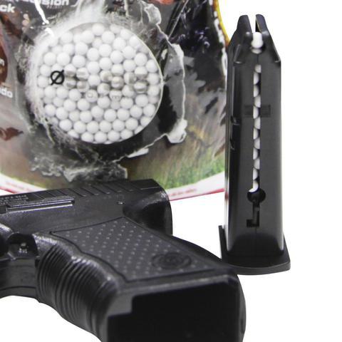 Imagem de Esferas Para Airsoft 5000 Pçs 6mm Velozter Ntk Tático