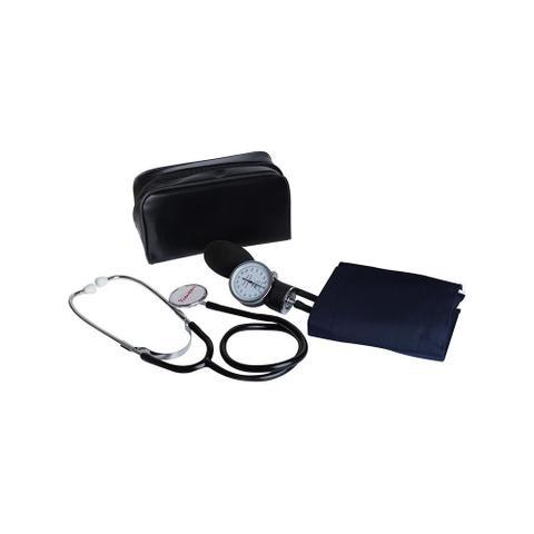 Imagem de Esfigmomanômetro Aparelho De Medir Pressão Arterial + Estetoscópio