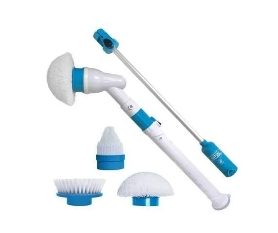 Imagem de Esfregão Escova Limpeza Vassoura Elétrica Usb Recarregável
