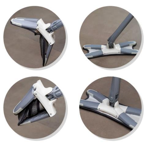 Imagem de Esfregão X-Mop Lava E Seca Com Extrusão Manual + Refil - Boni