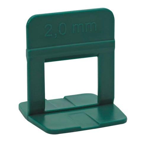 Imagem de Espaçador/Nivelador Cortag para Revestimento Eco Verde 2mm Embalagem com 500 Unidades