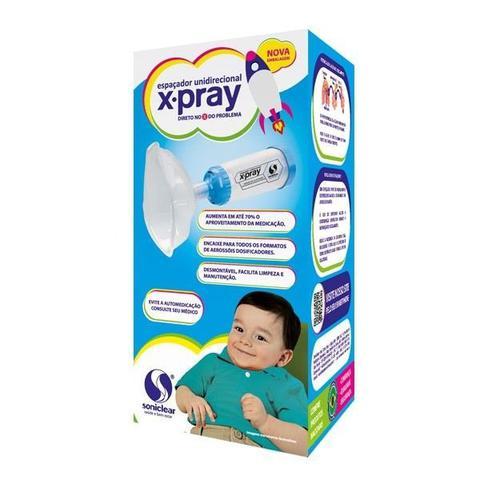 Imagem de Espaçador Unidirecional Xpray Soniclear Infantil (Azul)