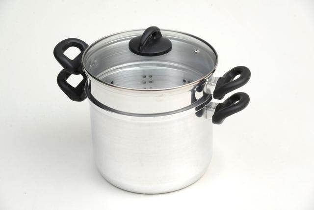 Imagem de Espagueteira 2 pecas com tampa de vidro (12020)