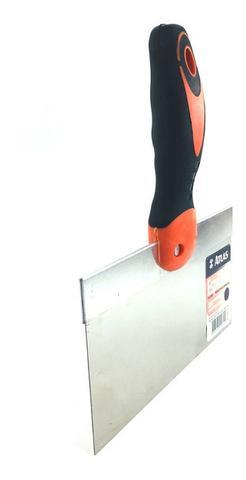 Imagem de Espátula Aço Inox 12'' / 24cm Massa Corrida, Gesso - 2 Peças