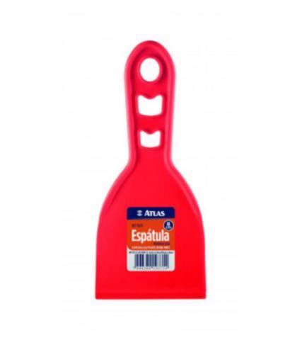 Imagem de Espátula Plástica Lisa 150/10 8 cm Vermelho